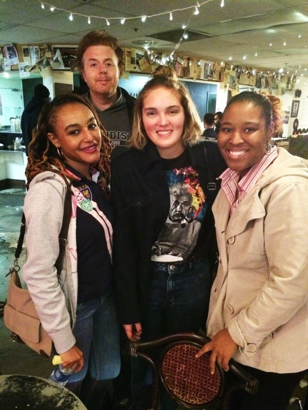 December 2015 Me, Andrew Clark Hall, Tomi and Vogue Robinson