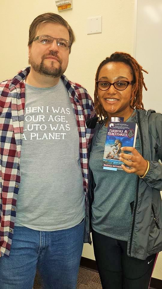 2013/14? With fantasy fiction author Maxwell Alexander Drake
